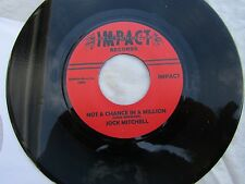 JOCK  MITCHELL NOT A CHANCE IN A MILLION NARBAY BELIEVE IT OR re-issue NEAR MINT