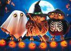 Avanti funny greeting card Halloween hoot owls photo