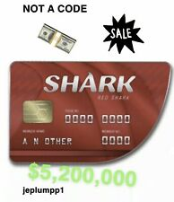 GTA 5 ONLINE SHARK CARD $5.25 MILLION Service (PS4 Only)