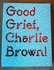 More details for superb good grief charlie brown exhibition catalogue in new condition