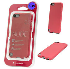SwitchEasy NUDE Slim Protective Case for Apple iPod touch 5/6th Gen Salmon PinK