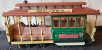 1983 San Francisco Cable Car Powell & Hyde St With Jim Beam Regal China Decanter
