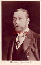 HIS MAJESTY KING GEORGE V. Davidson Bros Photo Series RPPC