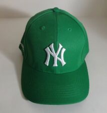 c3e4043f116 NY YANKEES GREEN MLB BASEBALL CAP HAT ADJUSTABLE STRAP ROBIN HOOD SGA 2016  - NEW