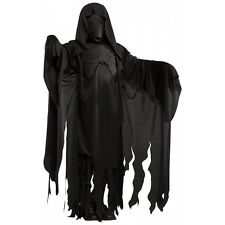 Dementor Costume Harry Potter Mens Grim Reaper Ghost Scary Halloween Fancy Dress