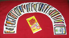 WACKY PACKAGES OS5 OLD SCHOOL 5 TAN BACK SET 1-33 W / PUZZLE IN NEW CONDITION