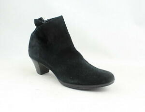 Munro Womens Alfie Black Ankle Boots Size 10.5 (Narrow) (1352659)