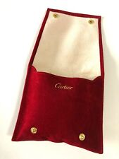 CARTIER WATCHES  -  WATCH TRAVEL BOX  -  COMPLETE BRAND NEW !