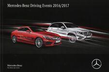 Mercedes-Benz Driving Events 2016 2017 Katalog Prospekt Fahrerlehrgang Training