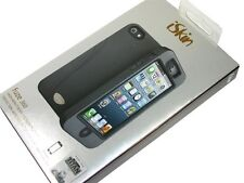 New iSkin Fuze 360 Case for iPhone 5 Black w/ Titan Screen Protector FUZE5G-BK1
