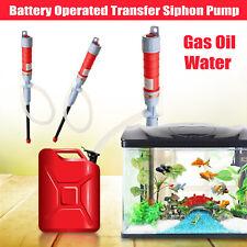 Electric Aquarium Fish Petrol Tank Water Gas Siphon Pump Cleaner Gravel Vacuum