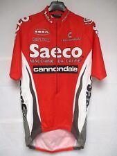 Maillot cycliste SAECO CANNONDALE 1998 CIPOLLINI maglia shirt cycling trikot L