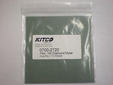 KITCO 0700-2720 FILM .1M .1UM DIAMOND POLISHING PAPER MYLAR BACKED    EB0104