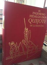 Don Quijote de La Mancha, 1 tomo formato 32x24 cms., ilustrado