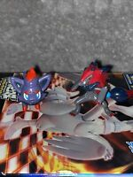 Zorua And Zoroark TOMY Original NINTENDO Pokemon Toy Figures BUNDLE VGC