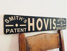 Hovis Sign Vintage Antique Style Wooden Kitchen Bread Bakery Old Cafe Baking