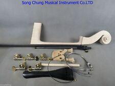5 strings 3/4 Upright Bass part:neck,fingerboard,bridge,tailpiece,pegs etc