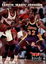Magic Johnson #30 Skybox USA 1992 NBA Basketball Card