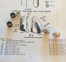 Harley K-Model & Sportster XLH Tool Box Mount Kit 1952-66 OEM# 64478-52