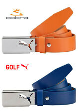 Cobra Puma Golf High Flyer 100% Leather (Pick a Size) Color Blue or Orange