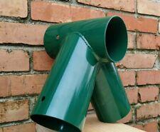 Giunto raccordo obliquo per altalene in acciaio verniciato per pali tondi Ø10 cm