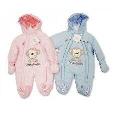 NEU w NURSERY TIME Baby Schneeanzug Mantel Wagonanzug 56 62 68 England