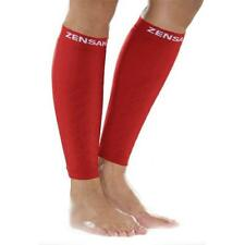 Zensah Leg Compression Sleeve For Sports Extra Small/Small - Red