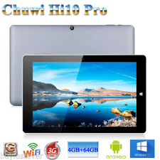 4GB+64GB 10.1'' Tablet PC Chuwi Hi10 Pro Win 10+Android 5.1 Ultrabook HDMI WIFI