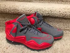 Deadstock Nike Air Flyposite Size 10 Cool Grey/Hyper Red 536850-001