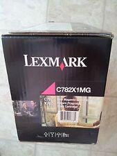 LEXMARK-C782X1MG ONE MAGENTA EXTRA HIGH YIELD RETURN PRINT CARTRIDGE (NEW IN BOX
