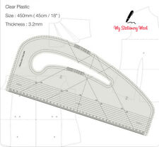 Pattern Maker Fashion Designing dirigeant Multi Usage vêtement Making marquage courbe