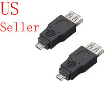 USB 2.0 A Female To Micro B Male 5 Pin Plug Adapter Converter for Android Phone