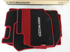 2009-2011 Honda Fit Genuine Replacement Carpeted MUGEN Sport Floor Mats RED NEW