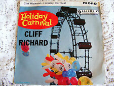 Cliff  Richard  Holiday Carnival EP  Carnival/ Moonlight Bay /Some Of These /For