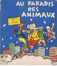 SAINT-OGAN. Au Paradis des Animaux.  Album n°7 - 1956