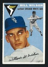 Bill Wilson - Chicago White Sox -1954 Topps Baseball Card # 222