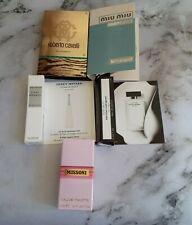 Fragrance Samples & Mini Bottle Missoni Miu Miu Roberto Cavalli L'eau D'Issey