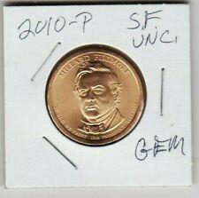 2010 P Millard Fillmore Uncirculated President Satin Finish Presidential Dollar
