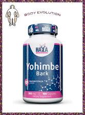 HAYA LABS Yohimbe Bark 100 Vegan Caps. 500 mg. Libido, Endurance, Stamina