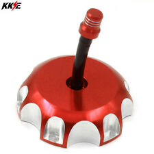 CNC Fuel Gas Tank Cover Cap /& Breather Valve for Honda CRF 450R 2002-2017 Red