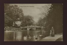 Gloucestershire Glos CHELTENHAM Pittville Park c1900/10s? PPC by Valentine