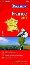 France - Reversible National Map 723 (Michelin Road Atlases & Maps)