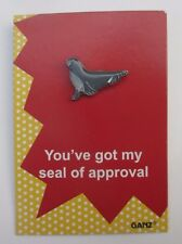 ood You've got my seal of approval tack lapel PIN IT POWER ENAMEL Ganz humor