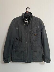 G Star Sandhurst Mens Biker Padded Jacket Medium