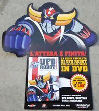 """""""GOLDRAKE"""" DVD N.1 NUOVO E SIGILLATO ORIGINALE SERIE TV UFO ROBOT (PANINARO)"""