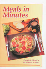 Vintage Meals In Minutes - Complete Meals In 30 Minutes or Less! - TASTE OF HOME