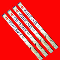 Encens SAUGE BLANCHE Lot de 4 boites - Economique ! (Purification/Protection)