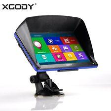 "XGODY 1 PCS 7"" 8GB Sat Nav 8GB Car BUS HGV GPS Navigation Free Map Upgrade NEW"