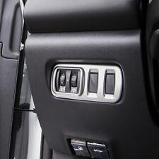 Car Headlight Lamp Switch Button Knob ABS Chrome Cover For Renault Kadjar 16-17