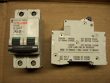 Merlin Gerin C60N Multi 9 Type D 2 Amp 2 Pole 480 Volt Circuit Breaker MG 24517